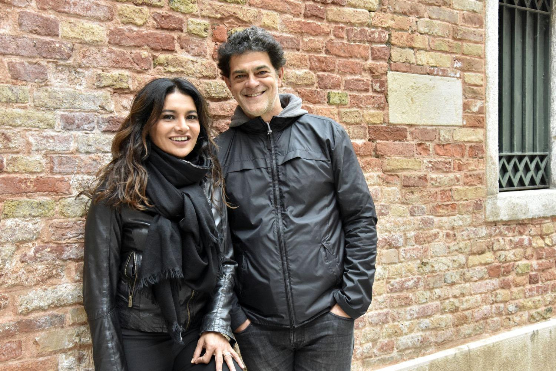 Eudardo Moscovis and Dira Paes in Venice veneza brazilian movie